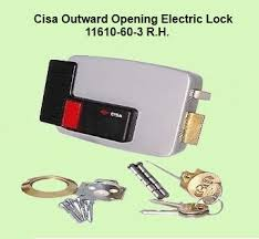 Cisa Outward Opening Electric Lock